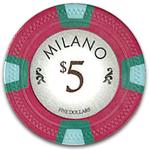 Claysmith Gaming - Milano Poker Chip
