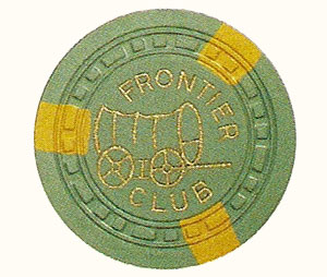 The New Frontier Hotel and Casino Poker Chip Mold