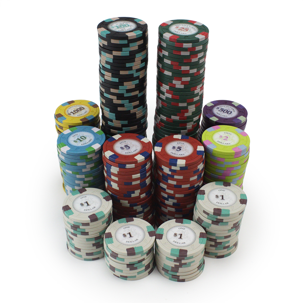 Get 1 Free Buy 2 50 Red $5 Poker Knights 13.5g Clay Poker Chips New